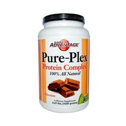 Pure Advantage, Pure-Plex Protein Complex, Chocolate, 2.27 lbs (1035 g)