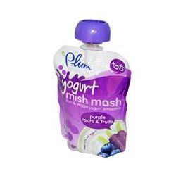 Plum Organics, Yogurt Mish Mash, Purple Roots & Fruits, 3.17 oz (90 g)