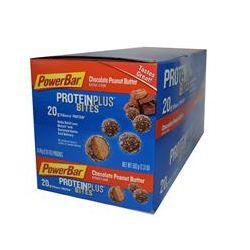 PowerBar, Protein Plus, Bites, Chocolate Peanut Butter, 8 Pouches, 2.61 oz (74 g) Each
