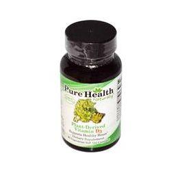 Pure Health, Plant-Derived Vitamin D3, 90 Veggie Soft Gel Caps