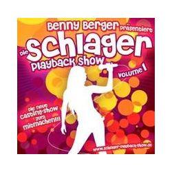 Musik: Schlager-Playback-Show Vol.1  von Benny Berger