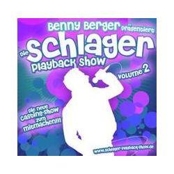 Musik: Schlager-Playback-Show Vol.2  von Benny Berger