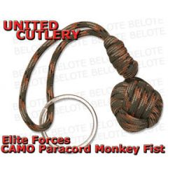 United Cutlery Elite Forces Camo Paracord Monkey Fist Ball UC2843