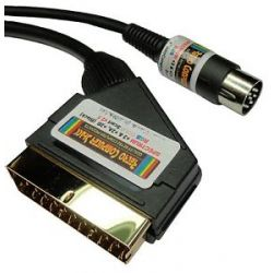 Sinclair ZX Spectrum +3 HQ RGB Gold Plated Scart Lead
