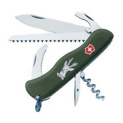 Victorinox Swiss Army Knife Hunter Olive Drab North American Hunting Club 53642