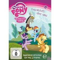 Film: (10)DVD z.TV-Serie-Freundschaft Über Alles  von Jayson Thiessen von My Little Pony mit My Little Pony