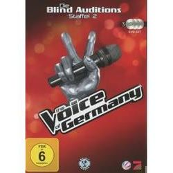 Film: (2)Blind Auditions  von The Voice Of Germany von The Voice Of Germany mit Xavier Naidoo, Nena, The Bosshoss, Rea Garvey