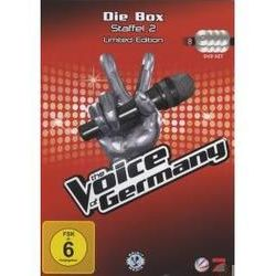 Film: (2)Box (Limited Edition)  von The Voice Of Germany mit Xavier Naidoo, Nena, The Bosshoss, Rea Garvey