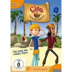 Film: (2)DVD z TV-Serie-Die Insel Der Wilden Tiere  von Cleo Und Die Kunstpiraten mit Ivan Sherry