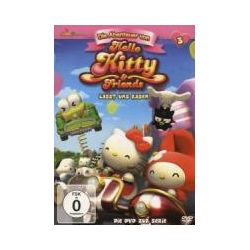 Film: (3)DVD z.TV-Serie-Lasst Uns Rasen  von Hello Kitty & Friends
