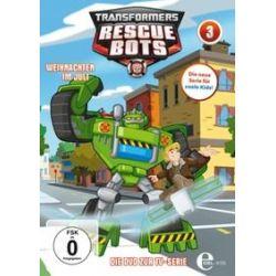 Film: (3)DVD z.TV-Serie-Weihnachten Im Juli  von Frank Molieri von Transformers:Rescue Bots
