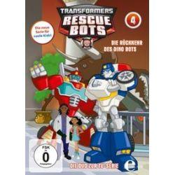 Film: (4)DVD z.TV-Serie-Die Rückkehr Des Dino Bots  von Transformers:Rescue Bots