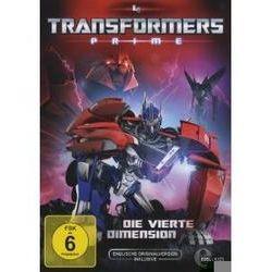 Film: (4)DVD z.TV-Serie-Die Vierte Dimension  von David Hartman von Transformers:Prime