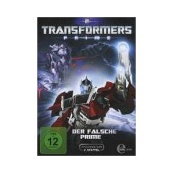 Film: (8)DVD TV-Der Falsche Prime  von David Hartman von Transformers:Prime mit Transformers Prime