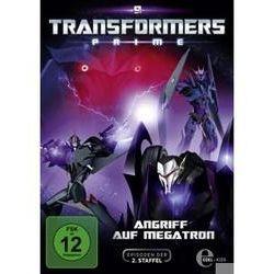 Film: (9)DVD TV-Angriff Auf Megatron  von David Hartman von Transformers:Prime mit Transformers Prime