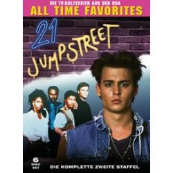 Film: 21 Jump Street-St.2/Amaray  von Stephen J. Cannell von 21 Jump Street mit Johnny Depp, Holly Robinson, Dustin Nguyen, Peter DeLuise, Steven Williams