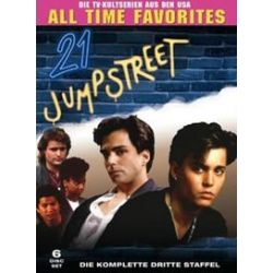 Film: 21 Jump Street-St.3/Amaray  von Kim Manners von 21 Jump Street mit Richard Grieco, Holly Robinson, Dustin Nguyen, Peter DeLuise, Steven Williams, Johnny Depp