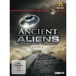 Film: Ancient Aliens - Unerklärliche Phänomene - Staffel 2  mit Robert Clotworthy, Jonathan Young