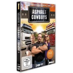 Film: Asphalt Cowboys - Die kompletten Staffeln 1 und 2  mit Gunter Gabriel
