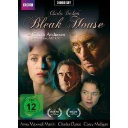 Film: Bleak House, 3 DVD  von Charles Dickens von Justin Chadwick, Susanna White mit Anna Maxwell Martin, Gillian Anderson, Charles Dance, Denis Lawson, Carey Mulligan