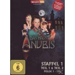 Film: Das Haus ANUBIS – Staffel 1 (Episoden 1-114)  von Jorkos Damen, Patrick Schlosser mit Kristina Schmidt, Franziska Alber, Alicia Endemann