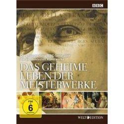 Film: Das geheime Leben der Meisterwerke, 7 DVD  von Russell Davies von Michael Burke, Lucie Donahue, Mick Gold, Judith Winnan