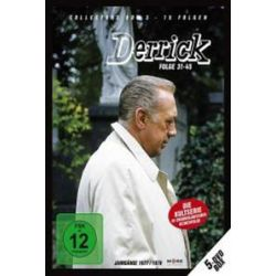 Film: Derrick - Collector's Box 3, 5 DVDs  von Herbert Reinecker von Derrick mit Horst Tappert, Fritz Wepper