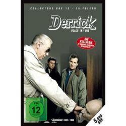 Film: Derrick - Collector`s Box 13  von Derrick mit Horst Tappert, Fritz Wepper