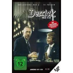 Film: Derrick - Collectors Box 2  von Herbert Reinecker von 4:3, 1.33:1, Mono von Derrick mit Horst Tappert, Fritz Wepper