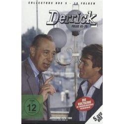Film: Derrick Collector's Box Vol. 5 (5 DVD/Folge 61-75)  von Herbert Reinecker von Derrick mit Horst Tappert, Fritz Wepper