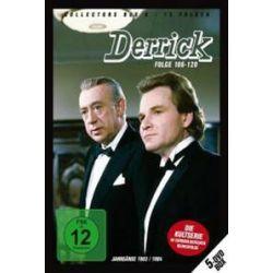 Film: Derrick Collector's Box Vol.8 (5 DVDs/ Folge 106-120)  von Derrick mit Horst Tappert, Fritz Wepper