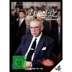 Film: Derrick Collectors Box 19 (4 DVD/Ep.271-281)  von Derrick mit Horst Tappert