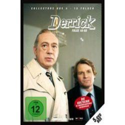 Film: Derrick Collectors Box Vol. 4 (5 DVDs)  von Herbert Reinecker von Derrick mit Horst Tappert, Fritz Wepper