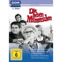 Film: Die lieben Mitmenschen (4 DVDs)  von Wolfgang Luderer mit Regina Beyer, Agnes Kraus, Marga Legal