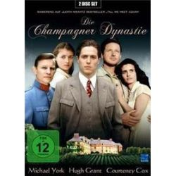 Film: Die Champagner-Dynastie, 2 DVD  von Judith Krantz von Charles Jarrott mit Hugh Grant, Michael York, Courteney cox, Maxwell Caulfield, Bruce Boxleitner