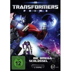 Film: DVD z.TV-Serie-Die Omega-Schlüssel  von David Hartman von Transformers:Prime mit Transformers Prime