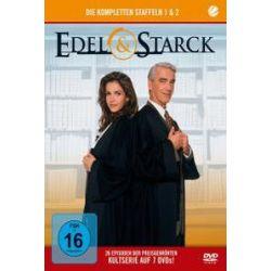 Film: Edel & Starck-Staffel 1 & 2 (7 DVD)  von Christoph M. Ohrt, Rebecca Immanuel von Edel & Starck mit Rebecca Immanuel, Christoph M. Ohrt