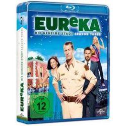 Film: Eureka - Die geheime Stadt - Season 3  von Bryan Spicer, Fred Gerber, Paul Holahan von Jordan Hinson Colin Ferguson Salli Richardson mit Colin Ferguson, Salli Richardson, Jordan Hinson