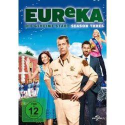 Film: Eureka Season 3  von Bryan Spicer, Fred Gerber, Paul Holahan von Jordan Hinson Colin Ferguson Salli Richardson mit Colin Ferguson, Salli Richardson, Jordan Hinson