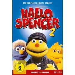 Film: Hallo Spencer-D.Komplette 2.Staffel (Ep.37-72)  von John Delbridge von Hallo Spencer mit Puppenfilm
