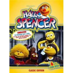 Film: Hallo Spencer - 6-DVD-Fan-Box  von Peter Podehl von Winfried Debertin von Hallo Spencer mit Puppenfilm