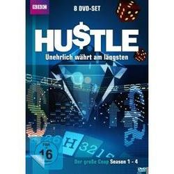 Film: Hustle: Unehrlich währt am längsten  von Robert Glenister mit Marc Warren, Adrian Lester, Robert Vaughn