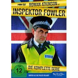 Film: Inspector Fowler-Die Komplette Serie  von Rowan Atkinson mit Rowan Atkinson