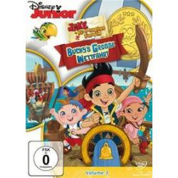 Film: Jake Und Die Nimmerland Pirate -Vol 3 - Bucky's grosse Wettfahrt  von Kelly Ward mit Walt Disney
