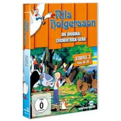 Film: Nils Holgersson - TV-Serien-Box 3  von Selma Lagerlöf von Hisayuki Toriumi von Nils Holgersson