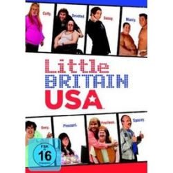 Film: Little Britain USA - Staffel 1  von David Walliams, Matt Lucas von Michael Patrick Jann, David Schwimmer mit David Walliams, Matt Lucas, Brett Gentile
