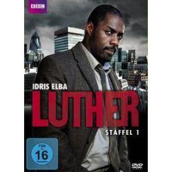 Film: Luther - Staffel 1  von Brian Kirk, Sam Miller, Stefan Schwartz mit Idris Elba, Ruth Wilson, Steven Mackintosh