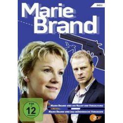 Film: Marie Brand - DVD 2 - Marie Brand und die Nacht der Vergeltung / Marie Brand und das  von Manuel Siebenmann, Florian Kern mit Mariele Millowitsch, Hinnerk Schönemann