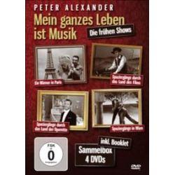 Film: Peter Alexander - Mein ganzes Leben ist Musik Sammelbox  mit Ingeborg Hallstein, Peter Alexander