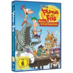 Film: Phineas und Ferb - Vol. 2 - Phineas, Ferb und Sensationen  von Dan Povenmire mit Walt Disney